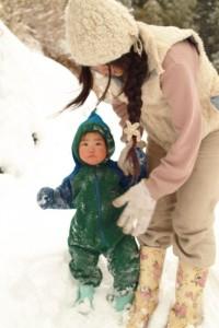 雪と遊ぶ時間☆∞