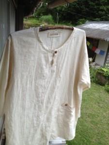 商品☆ヘンプ100%メンズシャツ∞*・゜゚・*:.