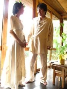 Nozomuさん∞Hijiriさん☆とっても美しいです結婚の儀∞in LOLOSITOA