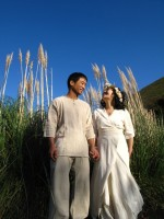 Organic cotton Wedding Dress☆*・゜゚・*:。. .。.:*・゜゚・*