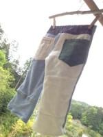 商品☆Organic cotton アシンメトリーKid'sパンツ∞*・゜゚・*