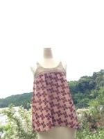 引越し還元商品☆Hemp Knit 花柄キャミソール☆*・゜゚・期間終了しました☆*