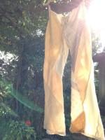 新商品☆Organic cottnn パッチワーク Lady's Pants☆一点物∞*・゜゚・*:.。.:*・゜゚・*