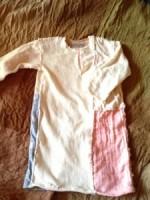 新作品☆ALL手縫い1歳児ロングパッチワークTシャツ☆*・゜゚・*:.。.:一点物*・゜゚・*