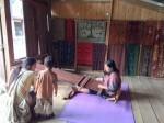 機織りの村∞Sadan村∞トンコナン家屋が身近なトラジャ地方☆*・゜゚・*:.。..。.:*