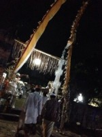Fullmoon Bali hindu ceremony∞月のリズムに生きるバリの人々の美しい暮らし∞花や果物野菜を捧げる心☆*・゜゚・*:.。Lovina beach..。.:*
