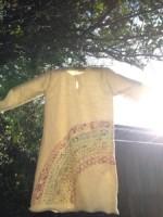 Organic cotton 1歳児用プルオーバーにレインボープリント誕生しました☆*・゜゚・*:.。..。
