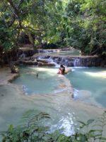 魂の聖地∞Kuang Si Water Fall∞ルアンパバーン in Laos☆