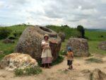 Laos旅行記の続き1∞手織りの村∞古代遺跡ジャール平原∞Plain Jars of site1☆