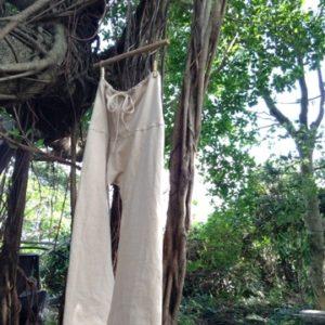 商品☆Organic cotton タイパンツ風パジャマパンツ☆*・゜゚・*:.。..。.:*
