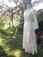 Motokaちゃん∞Organic cotton Wedding dress∞Crystal version