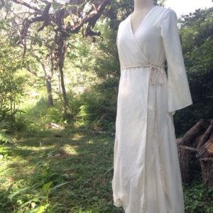 Motokaちゃん∞Organic cotton Wedding dress∞Crystal version
