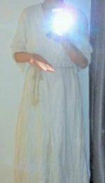 Sanaeさん∞Hemp&Cotton蓮花女神ワンピース創らせていただきました♡∞Crystal Bowl Healing∞☆