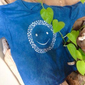 商品☆オーガニックコットン&オーガニックヘンプ 草木染め Kid's Tシャツ☆