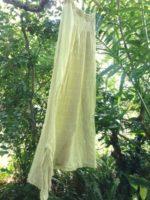オーダーメイド∞リネン&Cotton イレギュラーサイドフリンジスカートを創らせていただきました∞☆