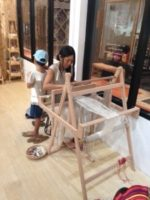 Silk機織り体験(Weaving)∞タイでの日々☆∞Thailand